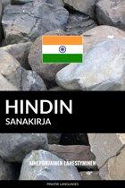 Hindin sanakirja: Aihepohjainen lähestyminen