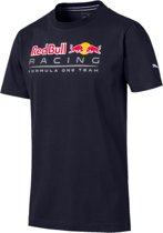 Red Bull Racing Logo Tee Heren Sportshirt