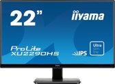 iiyama ProLite XU2290HS-B1 computer monitor 54,6 cm (21.5'') Full HD LED Mat Zwart