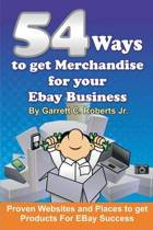54 Ways to Get Merchandise for Your Ebay Business