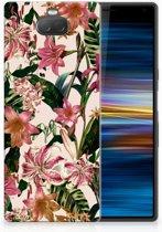 Sony Xperia 10 Uniek TPU Hoesje Flowers