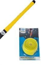 Hockeystick grip blister geel