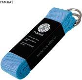 Yamkas Yoga Strap Blauw 300cm - 100% Katoen