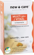 New Care Multi 50+ Vitaal Vitaminen - 2x 60 Tabletten - Multivitamine