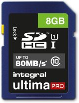 Integral UltimaPro 8GB - SDHC Geheugenkaart
