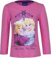 Frozen t-shirt met lange mouwen