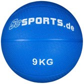 ScSPORTS® Medicine Bal blauw - 9 kg