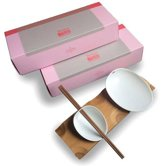 Cookplay Jomon Sushi set - Porselein - 29 x 11 x 4 cm - Wit