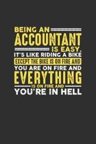 Being an Accountant is Easy. It's like riding a bike Except the bike is on fire and you are on fire and everything is on fire and you're in hell: Week