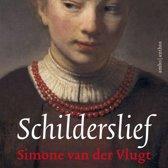 Boek cover Schilderslief van Simone van der Vlugt