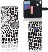 Xiaomi Redmi Note 7 Telefoonhoesje met Pasjes Slangenprint