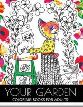Your Garden Coloring Book for Adult