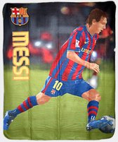 Barcelona Fleece Blanket Messi 10