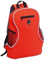 Voordelige backpack rugzak rood