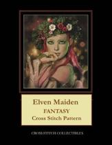 Elven Maiden: Fantasy Cross Stitch Pattern