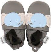 Bobux Soft Sole babyslofjes Olifant grijs - Maat XL