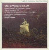 Telemann: Funeral Music, Cantata / Michael Schneider