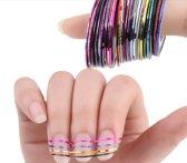 Nailart tape 30-kleuren