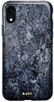 LAUT - iPhone Xr Hoesje - Back Case HUEX Marble Blauw