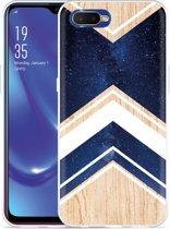 Oppo RX17 Neo Hoesje Space wood