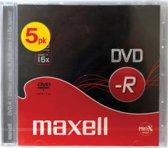 DVD-R 4.7 GB 5 pak