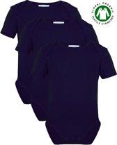 Link Kidswear Unisex Rompertje - Navy - Maat 62/68