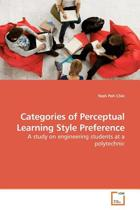 Categories of Perceptual Learning Style Preference