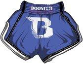 Booster TBT pro kickboksshort blauw medium