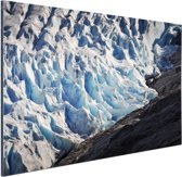 FotoCadeau.nl - Gletsjer detailfoto Aluminium 120x80 cm - Foto print op Aluminium (metaal wanddecoratie)