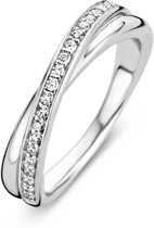 TI SENTO Milano Ring 1953ZI - Maat 54 (17,25 mm) - Gerhodineerd Sterling Zilver