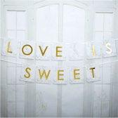 Slinger - Love Is Sweet Marmer - 2 Meter
