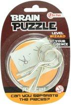 Toi-toys Hersenkraker Brain Puzzle Wizard Zilver