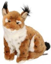 Pluche lynx knuffel 25 cm