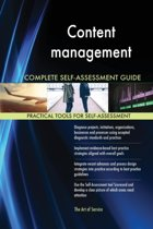 Content Management Complete Self-Assessment Guide