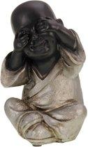 Boeddha monnik zien (hoogte 15 cm)