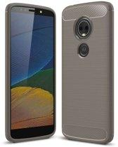 Motorola Moto G6 Play hoesje - Rugged TPU Case - grijs