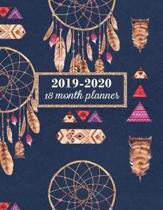2019-2020, 18 Month Planner