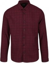 Only & sons slim fit overhemd flannel valt kleiner - Maat S