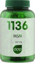 AOV 1136 MSM Voedingssupplement - 90 Capsules