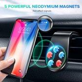 Magnetische telefoonhouder voor in de auto - Magneet - Ventilatierooster - Ventilator- GSM houder auto - Auto ventilatie - Smartphone - Mobielhouder - Autohouder - Auto telefoonhouder - Samsung - iPhone - Nokia - Huawei - Sony - LG - HTC - Universeel