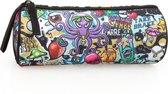 Delbag Graffiti - Octopus - Etui - 21 cm