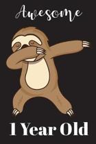 1 Year Old Dabbing Sloth