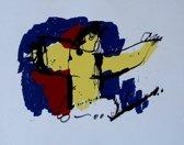 Herman Brood Schilderij Zeefdruk 'De gezegende'