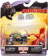 Hoe tem je een draak - Battle pack Dragons - Monstrous nightmare vs. Snuffer