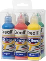3D Verf - CREALL-3D Liner - Primary assortment Set