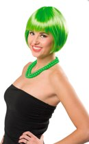 Pruik Bobline - Neon Groen