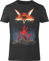 The-Witcher-T-shirt-met-korte-mouw-zwart - Maat XXL