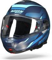 Nolan N100-5 Lumière 040 Blauw Systeemhelm - Motorhelm - Maat L