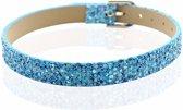 Montebello Armband Akoi B - Dames - PU leer – Glitter - 20.5 cm