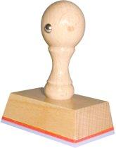 Handstempel 55x35 Mm | Stempel laten maken | Stempel met uw afbeelding en tekst | Bestel nu!